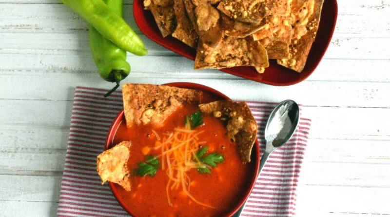 Томатный суп с тушеным перцем «Мексиканский тушкан»