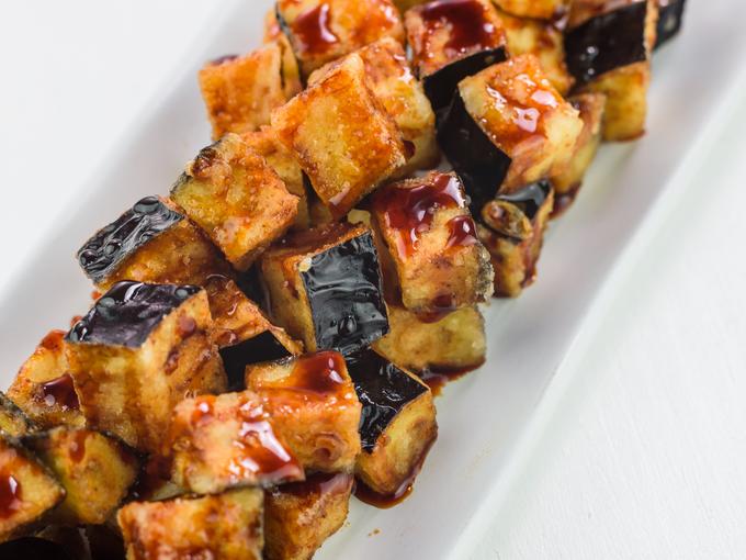 Хрустящие баклажаны жареные по-китайски - за считанные минуты