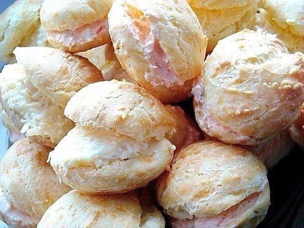 Гужеры — французские заварные булочки...вкуснооо!