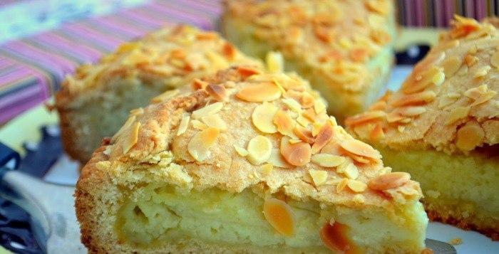 Тосканский пирог с заварным кремом «Torta della nonna