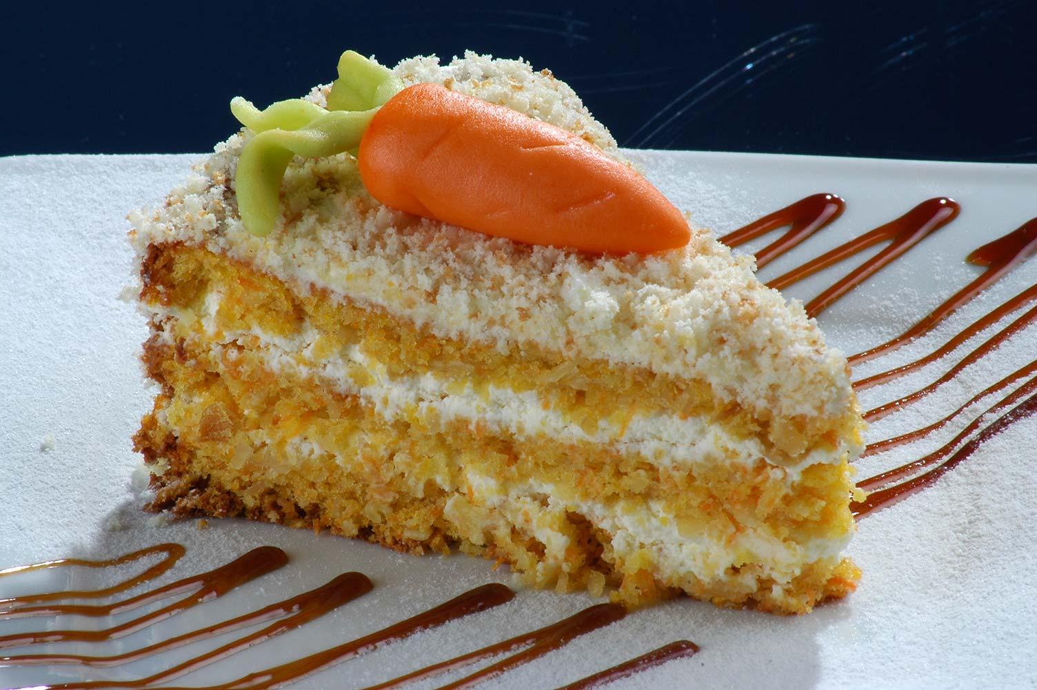 Морковно-овсяный торт для диетического праздника!