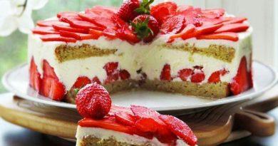 Тортик а-ля Фрезье
