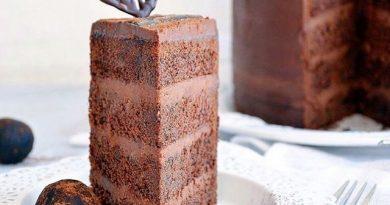 Шоколадный торт - рай для шокоманов.