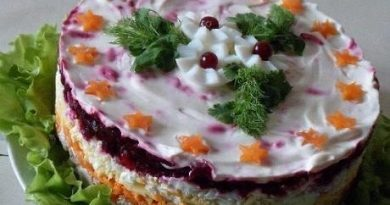 Салат из свёклы «Генерал» -