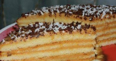Очень вкусный тортик