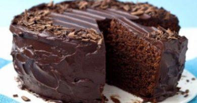 Супер-влажный шоколадный пирог (без яиц) У меня вся семья в восторге от этого торта!)