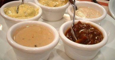 Соусы к мясным блюдам