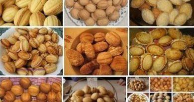 СУПЕРПОДБОРКА! Орешки из орешницы! 10 вариантов!