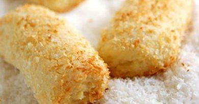 Рассыпчатое, мягкое и ароматное кокосовое печенье