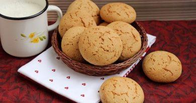 Овсяное печенье без хлопьев