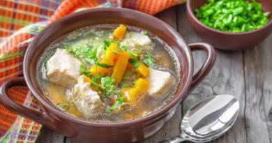 Суп из свинины с картошкой