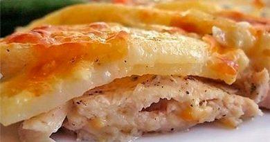 """Картошка с куриным филе """"по-царски"""""""