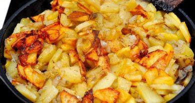 Жарим картошку правильно.