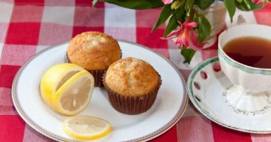 Лимонные маффины – манящий аромат!