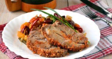 Запеченная свинина куском в духовке – много мяса не бывает!