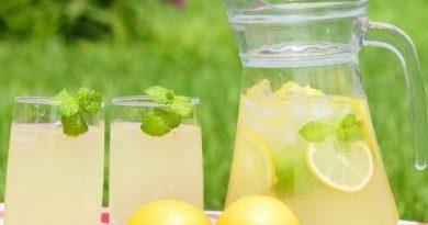 Рецепт домашнего лимонада и имбирем и мятой