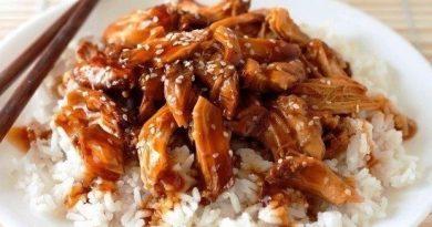 Курица в соусе терияки (2 порции)