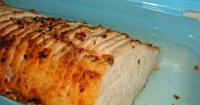 Запеченное мясо с корицей и приправами - объедение