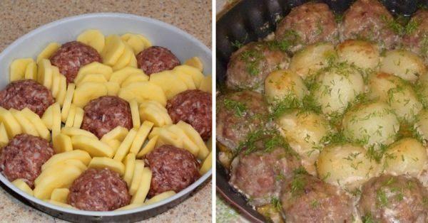 Как накормить всю семью с помощью 200 грамм фарша: вкусный бюджетный ужин, съедают до последней крошки.