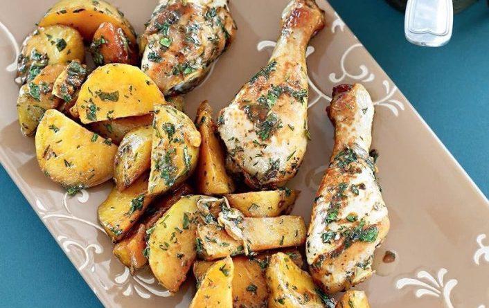 Картошка с курочкой
