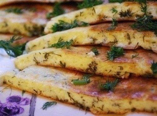 Быстрое хачапури на сковороде