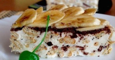 """""""Сметанный торт из крекера"""""""
