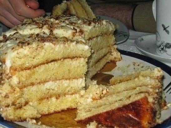 Самый простой и самый нежный торт - ЛАКОМКА