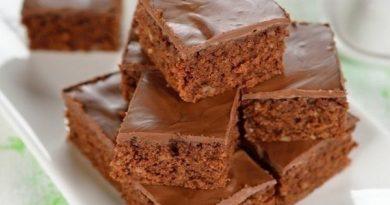 Шоколадные пирожные!