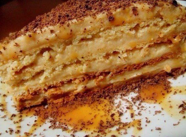 """Торт """"Крем-брюле"""""""