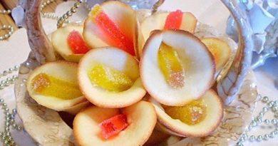 Печенье с мармеладом.