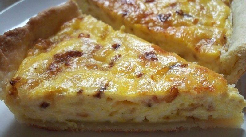 Быстро и вкусно - сырный пирог!