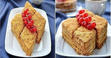 Попробуйте этот безумно-вкусный, очень нежный, тающий во рту торт...