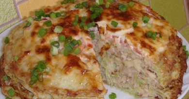 Кабачково-сырный тортик с мясом!!!!!!!!!!!!!