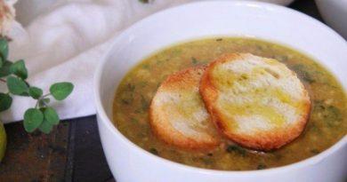 Мексиканский чесночный суп