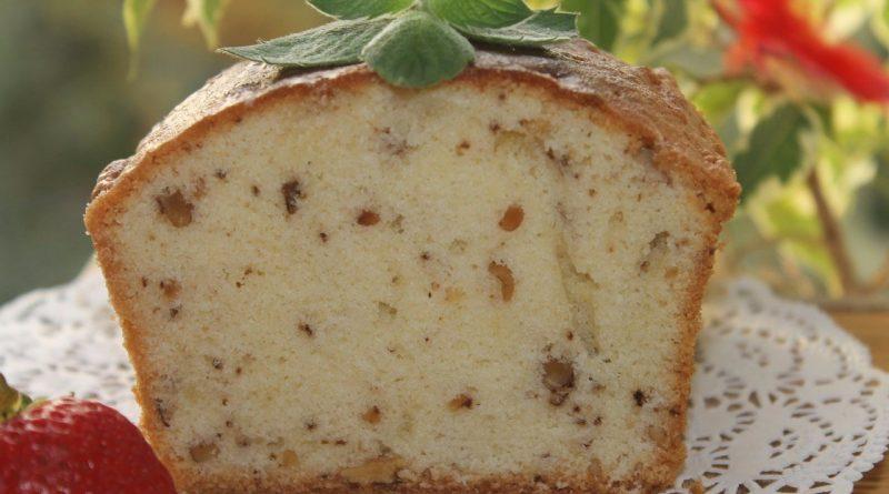 Ароматный ореховый кекс!!!!!