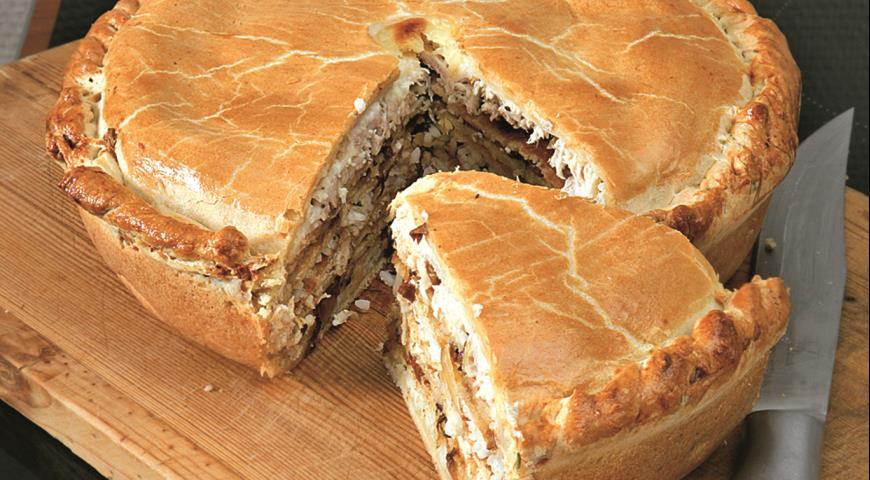 пирог курник рецепт с фото бархатным юбилеем