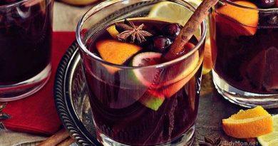 Рецепт ароматного безалкогольного глинтвейна