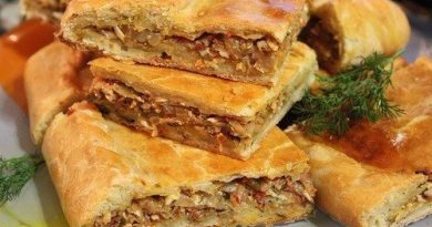 Пирог с капустой и грибами: выпечка с пользой для фигуры!