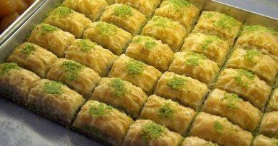 Пахлава – традиционные греческие сладости с турецкими корнями