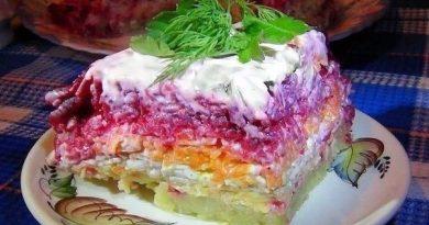 Салат из свёклы «Гeнерал»-BKУСHО-Это HE то Словo!