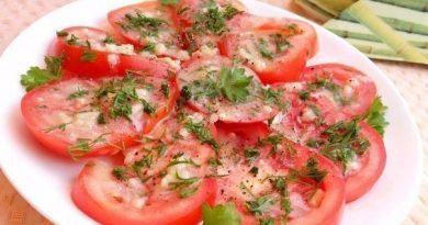 Маринованные помидоры за 30 минут.