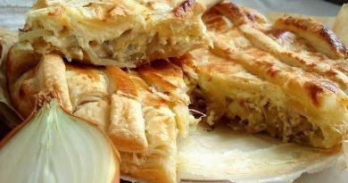 Луковый пирог / Onion Pie
