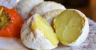 Картофель печеный как на костре