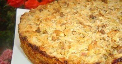 Болгарский рецепт яблочного пирога.