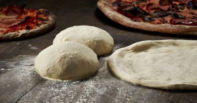 Тесто для пиццы.