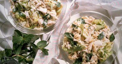 Куриный салатик на ужин: просто и со вкусом!