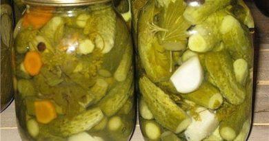 Огурчики вкуснейшие (с лимонной кислотой)