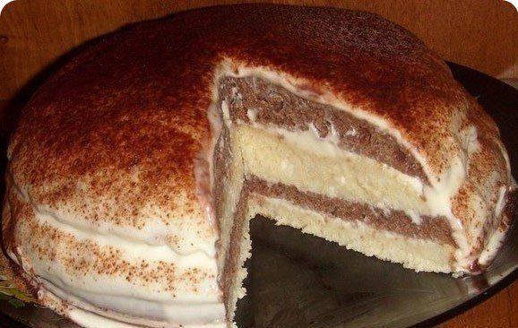 Девочки))) урааа... нашла простой рецепт очень нежного и вкусного тортика на кефире! Когда его ела...чуть пальцы себе не откусила )))