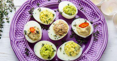 Фаршируем яйца быстро и вкусно