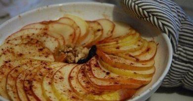 Запеченные яблоки с корицей - всего 10 минут и вкуснейшее лакомство готово!